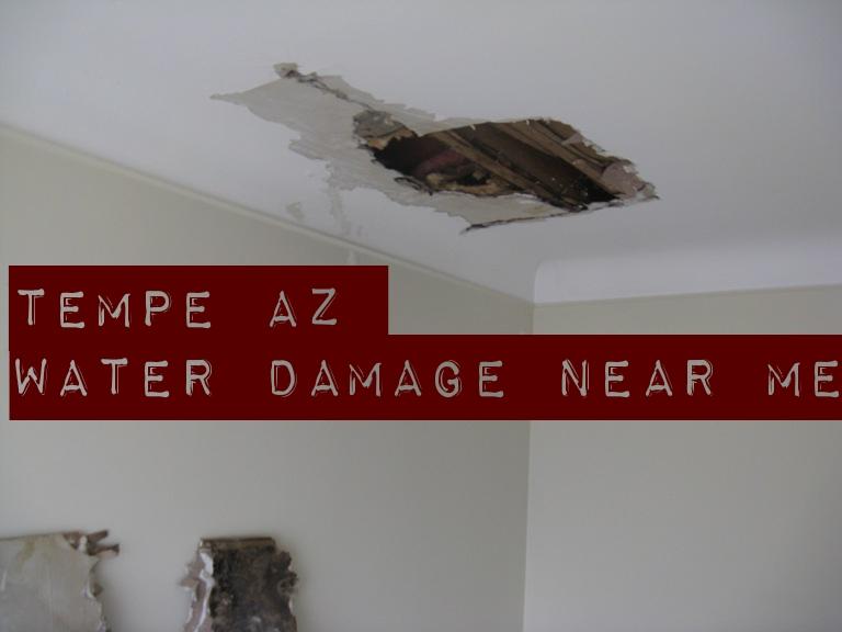 Tempe AZ water damage near me
