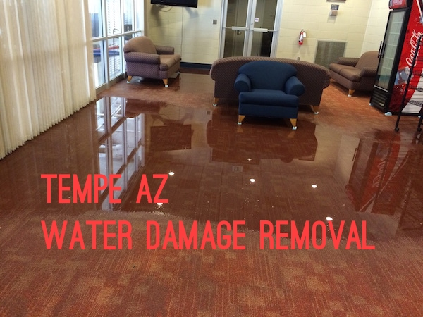 Tempe AZ Water Damage Removal