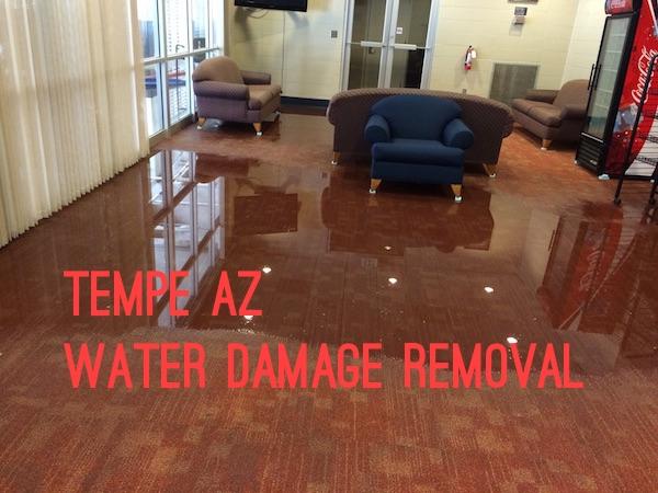 Tempe AZ Water Damage Removal