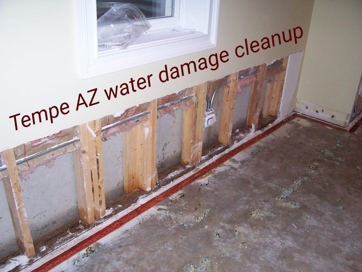 Tempe AZ Water Damage Cleanup
