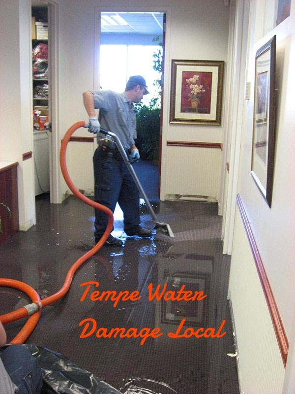Tempe water damage local