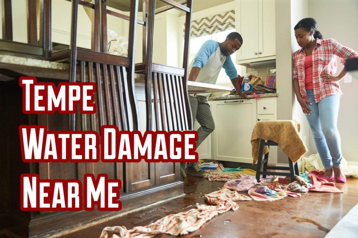 Tempe water damage near me