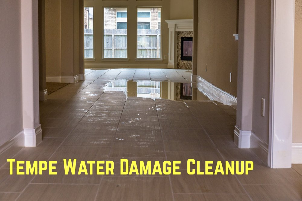 Tempe Water Damage Cleanup