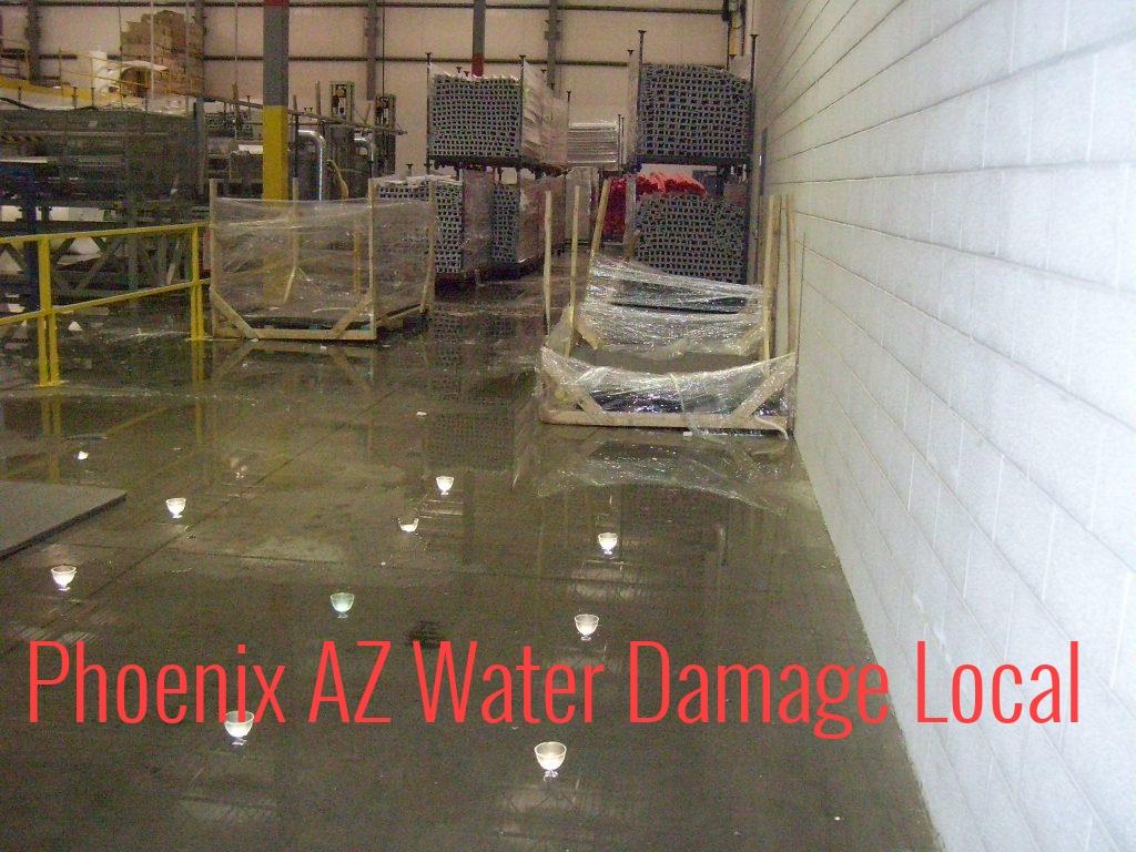 Phoenix AZ Water Damage Local