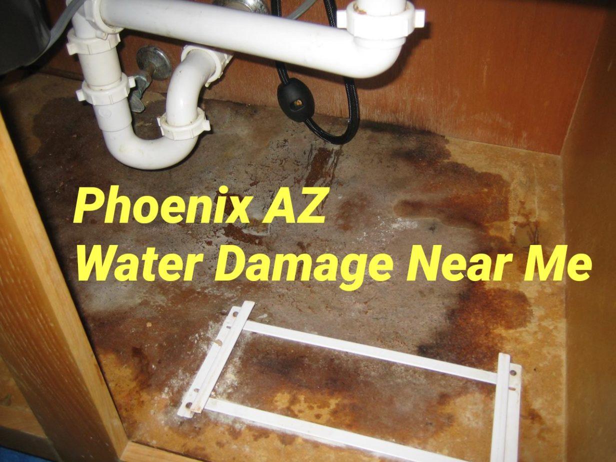 Phoenix AZ Water Damage Near Me