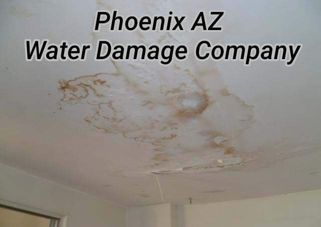 Phoenix AZ Water Damage Company