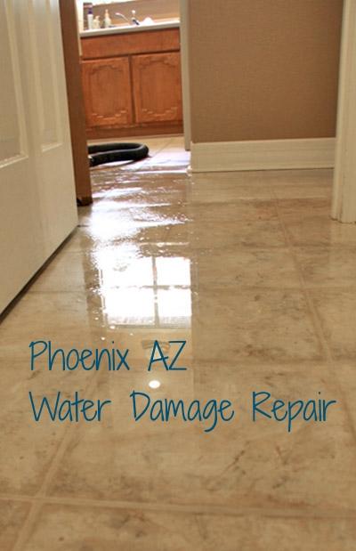 water damage restoration phoenix