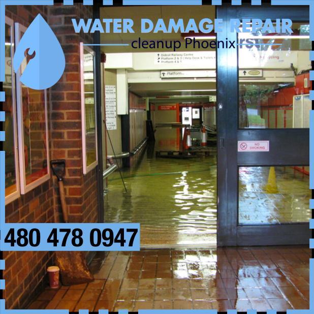 water damage phoenix AZ Commercial Restoration Company 393d