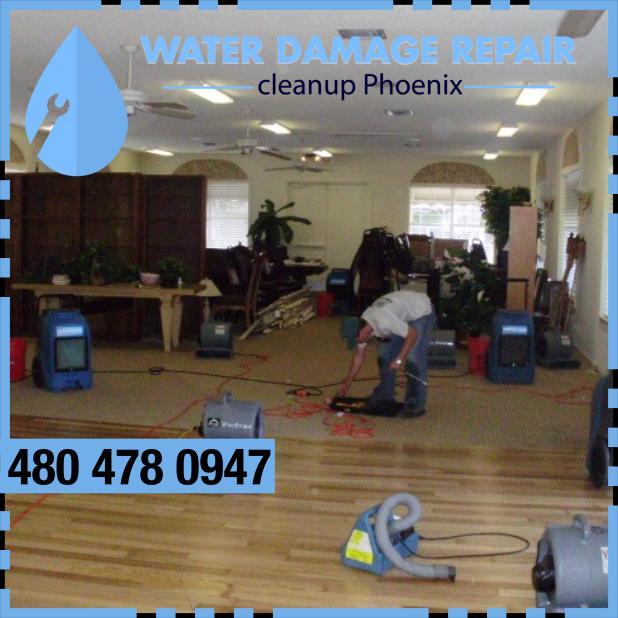 water damage phoenix AZ Commercial Restoration Company 397