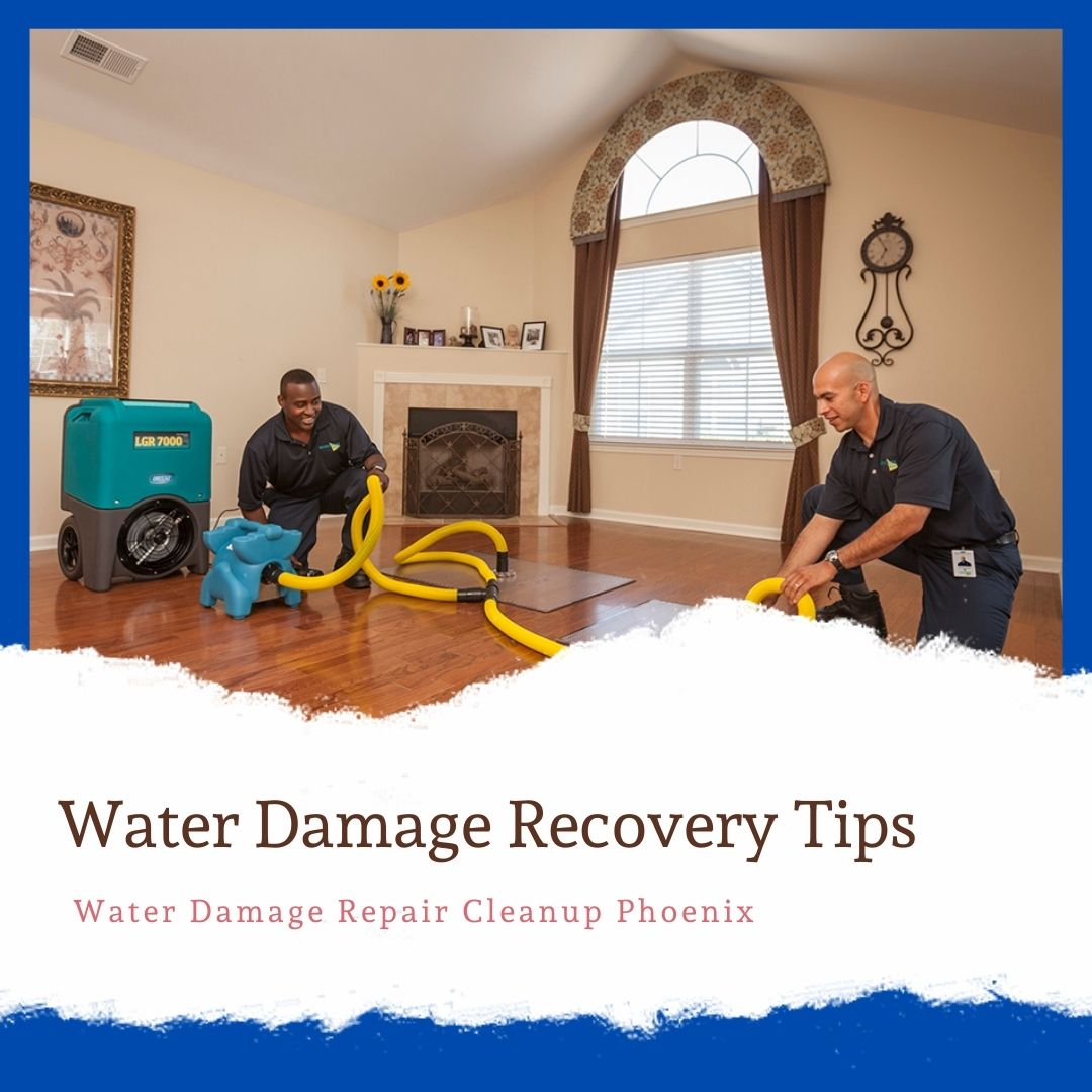 Water damage recovery tips