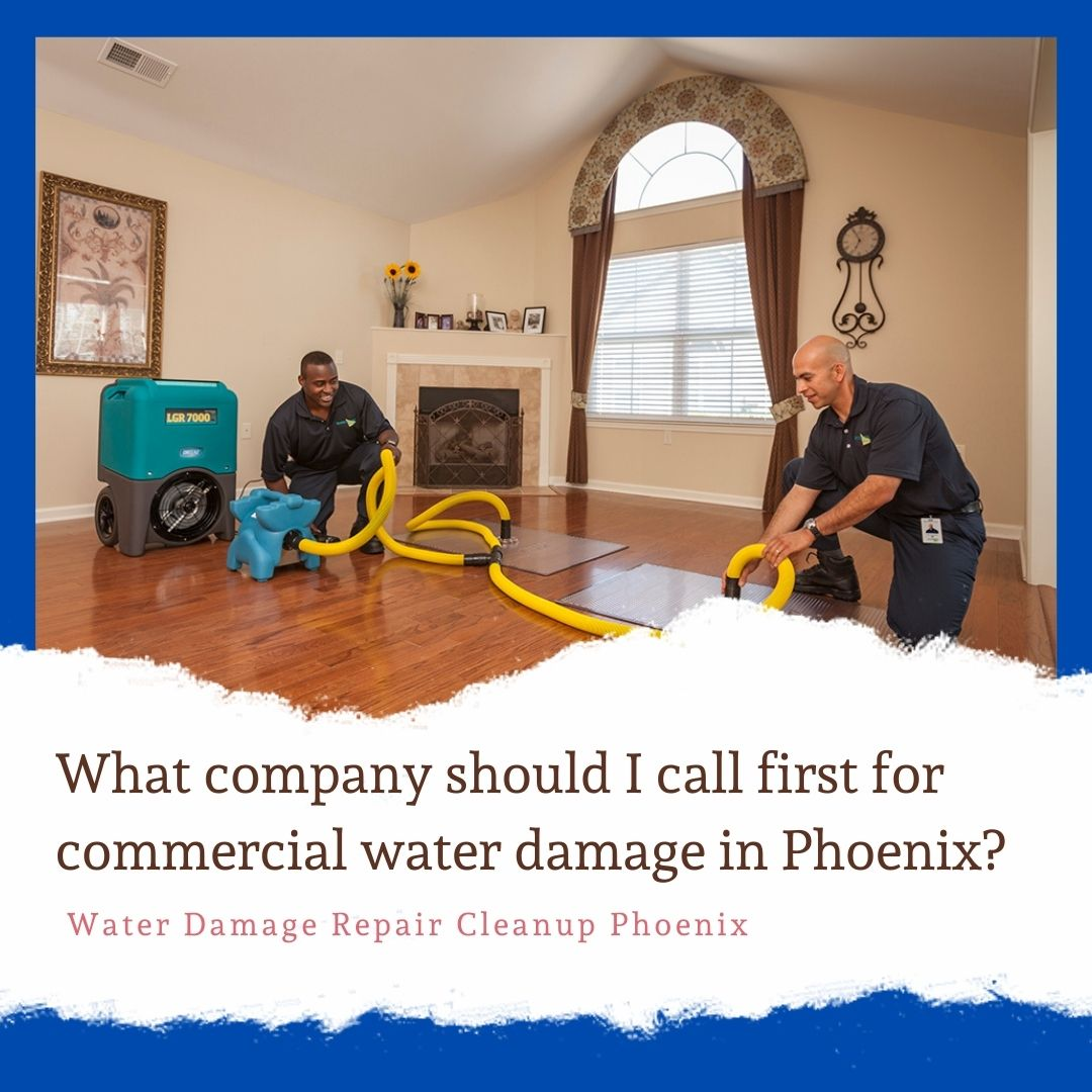 water damage repair cleanupphoenix