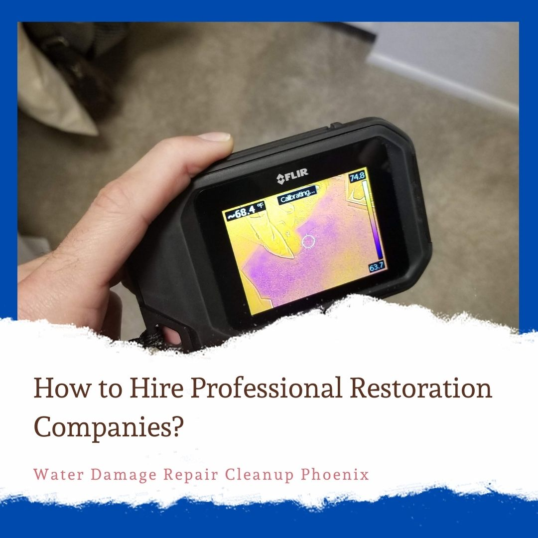 How to hire professional restoration companies