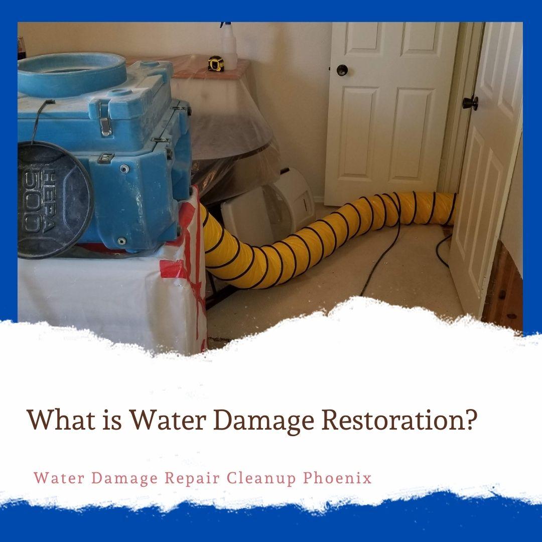 What is Water Damage Restoration