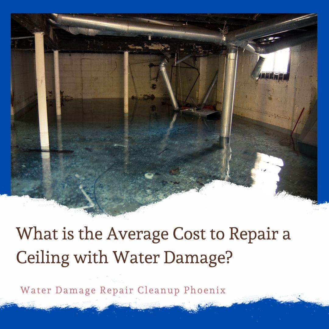 What is the Average Cost to Repair a Ceiling with Water Damage