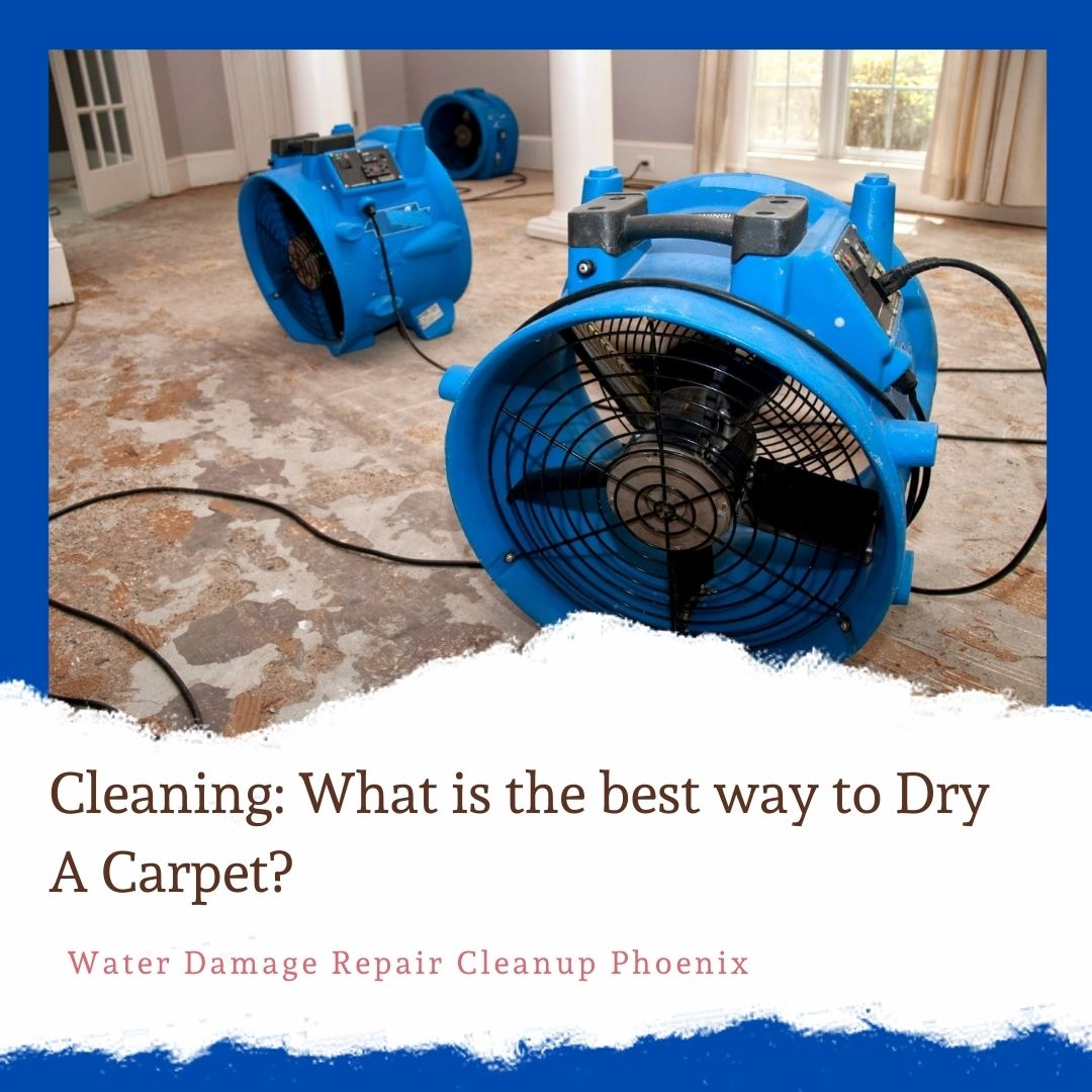 What is the best way to Dry A Carpet