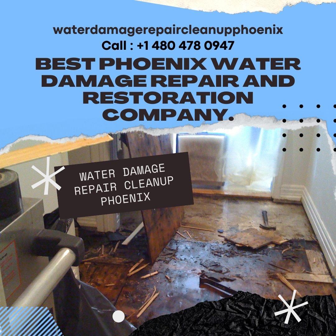 Best Phoenix Water Damage Repair and Restoration Company.