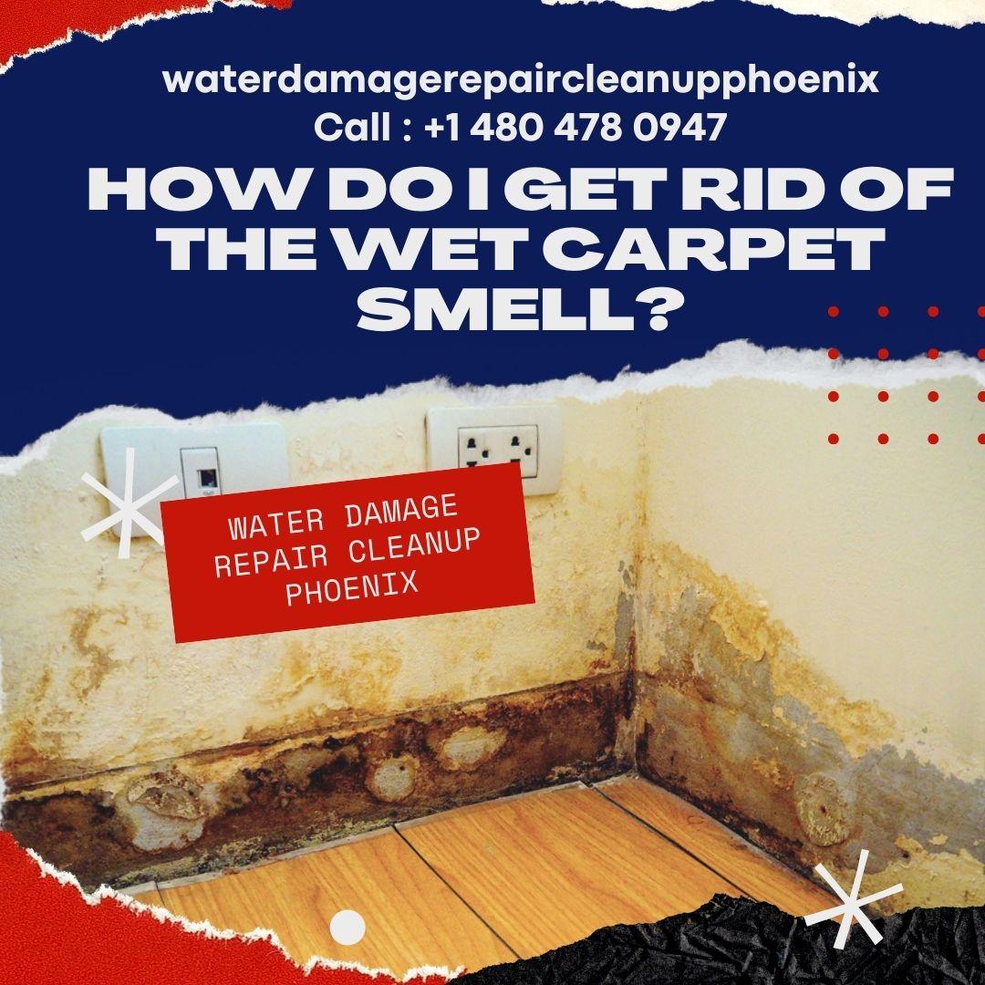 How do I get rid of the Wet Carpet Smell?