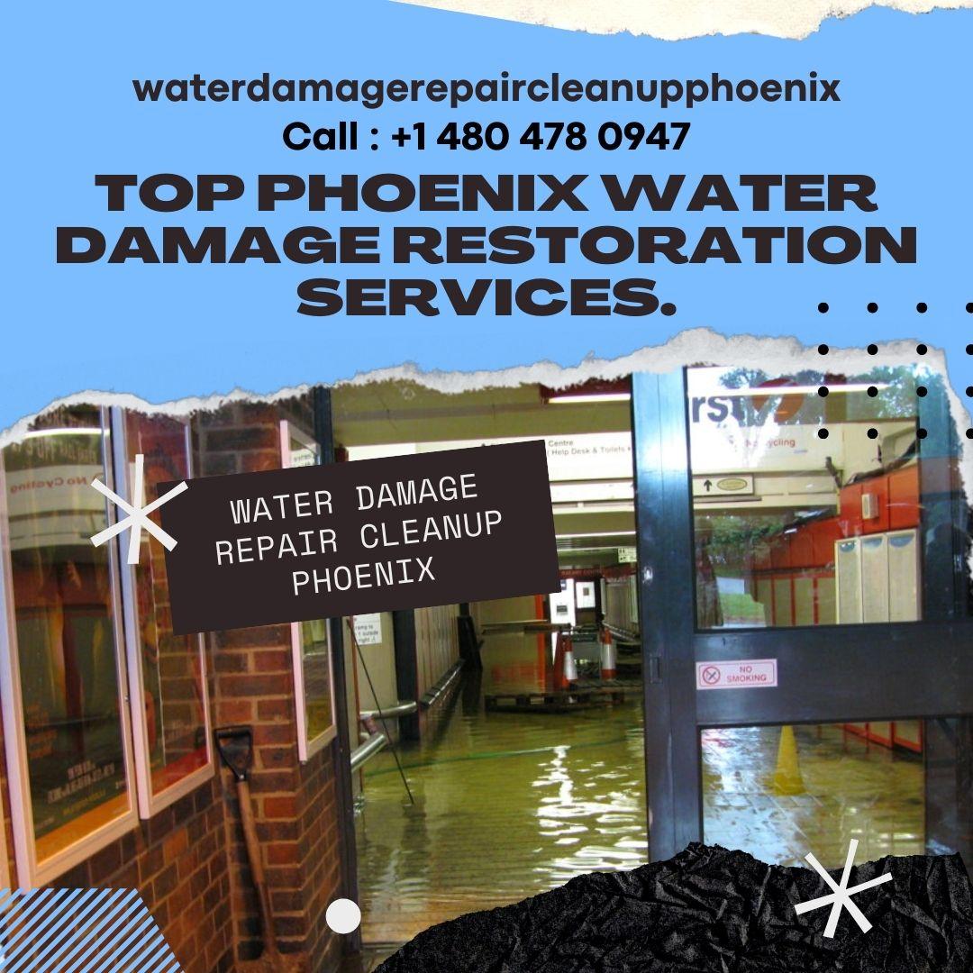 Top Phoenix Water Damage Restoration Services