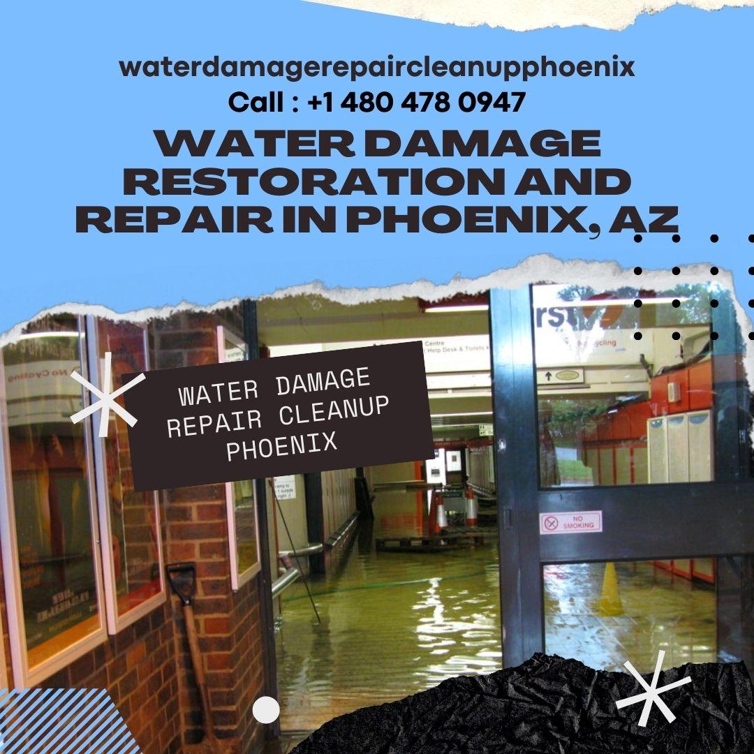 Water Damage Restoration and Repair in Phoenix, AZ