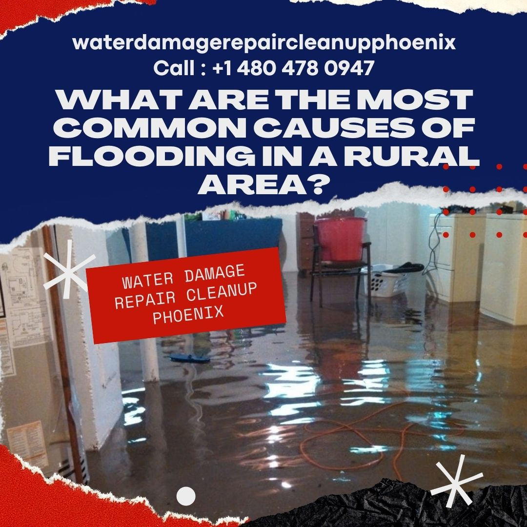 What are the most common Causes of Flooding in a rural area